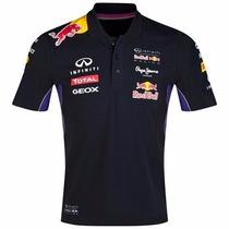 Camisa Oficial Original F1 Formula 1 Homem Manga Curta Polo