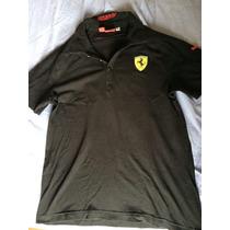 Camisa Polo Puma Ferrari