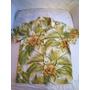 Camisa Manga Curta C/ Botão De Madeira Ad Life Style Florida
