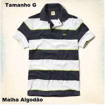 Roupas Camisas Polo Masculina Da Marca Hollister Original
