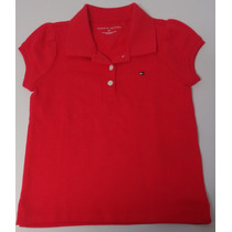 Tommy Hilfiger Camisa Polo Infantil Menina Tamanho 3 Anos