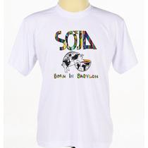 Camisa Customizada Masculino Banda Reggae Soja
