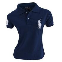 Camisa (camiseta) Gola Polo Feminina Ralph Lauren Frete G