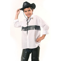 Camisa Infantil Country - Rodeio C/ Franja