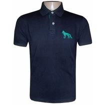 Camisa Polo Acostamento Preta Ac101