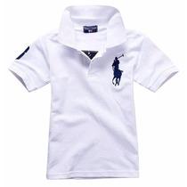 Camisa Polo Ralph Lauren Infantil Tamanho 2 A 8 Anos