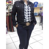 Camisa Feminina Xadrez Manga Longa
