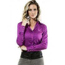Camisa Social Feminina Principessa Tayla
