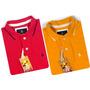 2 Camisas Polos Originais, Cores À Escolha Grife Original