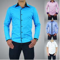 Camisa Slim Fit Luxo Pronta Entrega Vários Modelos