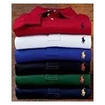 1kit 20 Camisas Gola Pólo, Linha 1 Tommy. Segio, Lacoste Etc