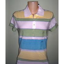 Tommy Hilfiger : Camisa Polo Feminina. Tradicional