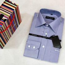 Camisa Social Importadas Dg Boss Armani Tommy 100%algodão