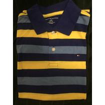 Camisa Polo Infantil Tommy Hilfiger - Tamanho 12-14