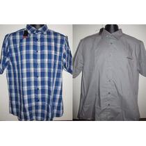 2por1 2 X Camisa Xadrez Pierre Cardin Gg - Produto Inglês