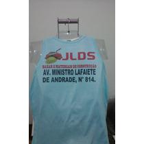 Camisa Regata Personalizada P/empresa,evento,foto,100% Polie