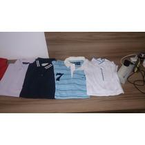 Kit 6 Polos Crawford /brooksfield/ Vila Romana/ M Officer