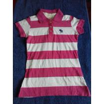 Camisa Polo Abercrombie & Fitch - Feminino