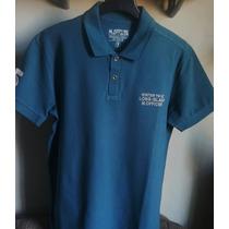 Camisa Polo Masculina Marca Famosa M.officer Verde Tm G & Gg