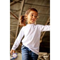 Camisa Extreme Uv Infantil Manga Longa Com Proteção Solar