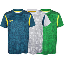 Camisa Umbro Small Sided Infantil 560154 6 A 12 Anos.
