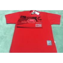 Camisa Masculina Manga Curta Ecko Vermelha G