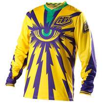 Camisa Troy Lee Cyclops Yellow Motocross Trilha Enduro