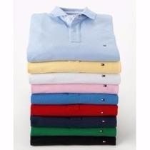 Camiseta Camisa Polo Masculina Tommy Hilfiger Diversas Cores