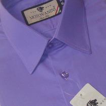 Camisa Social Slim Fit 100% Algodão Fio 50 Extra 51 1007