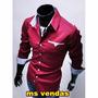 Camisa Social Masculina Camisas Slim Fit Premium Importada