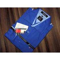 Kit C/ 3 Camisas Slim Social Lacoste Tommy Hugo Boss Atacado