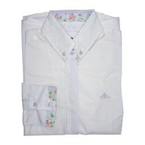 Camisa Social Feminina Manga Longa (40 Ao 44) - Pura Flor