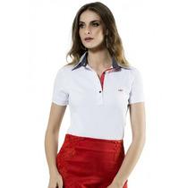 Camisa Gola Pólo Feminina Principessa Ticiana