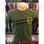 Camiseta Hurley Verde Tam P #461 Original Regata Polo Camisa