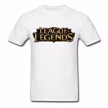 Camiseta League Of Legends Lol Algodão Alta Qualidade Camisa