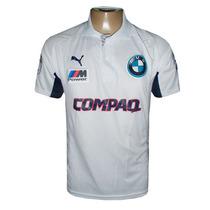 Camisa Polo Bmw Williams Branca Compaq