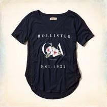 Camisa Camisetas Feminina Abercrombie & Fitch Hollister