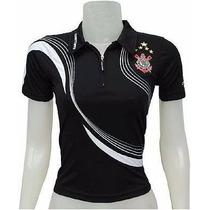 Camisa Babylook Feminina Do Corinthians