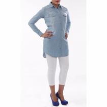 Vestido Camisão Jeans Sawary