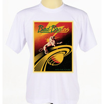 Camisa Personalizada Banda Bad Brains Reggae Hardcore Adulto