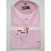 Kit C/ 3 Camisas Masculina Slim Social Lacoste Thomy Atacado