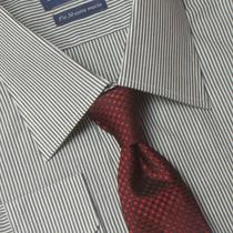 Camisa Social Masculina Fio 50 100% Algodão 01 1019