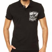 Camisa Polo Pocket Adidas Originals Preta - Tamanho M