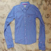 Roupa Social Feminina Camisa Hollister Slim Fit Listrada
