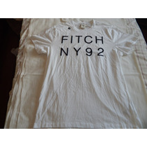 Camisa T-shirt Masculina Abercrombie & Fitch (tamanho Xxl)
