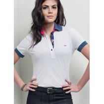 Blusa Polo Despojada Feminina Principessa Naiza