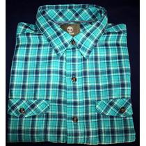 Camisa Social Timberland Manga Curta Regular Fit Tam. P