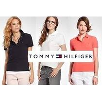Camisa Camiseta Polo Feminina Lacoste E Tommy Hilfinger