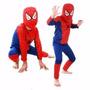Fantasia Infantil Homem-aranha Spiderman Festa Criança