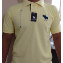 Kit 3 Camisas Polo Abercrombie And Fitch Originais.